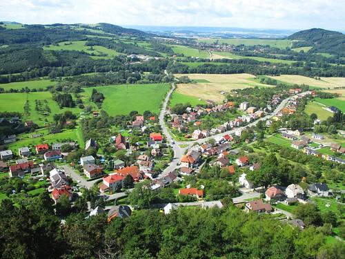 Výhled ze Štramberské Trúby