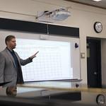 Dr. Perttu teaching.