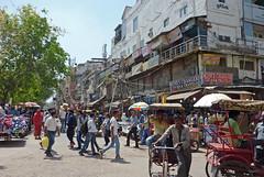 New Delhi Street Market (Isabel-Valero) Tags: street people india travel market city new delhi