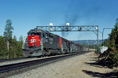 SP 6776 East at Norden, CA (thechief500) Tags: donnerpass railroads sp southernpacific espee california