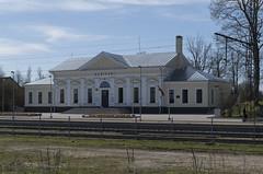 Skrīveru dzelzceļa stacija, 04.05.2017.