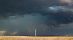 Oklahoma Panhandle storm #2 (matt.clark25) Tags: oklahoma oklahomathunderstorms thunderstorm lightning convection outflow gusty gusts gust plains highplains weather cumulonimbus gustfront