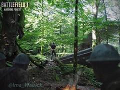 Battlefield 1 Argonne Forest (Matte painting) (Blazgad) Tags: mattepainting