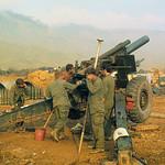US Artillery Backs ARVN Incursion into Laos 1971 - Làng Vei 4/3/1971 - Pháo binh Mỹ hỗ trợ quân đội VNCH xâm nhập đất Lào thumbnail