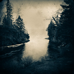 The Misty Beyond (William Flowers) Tags: lake water trees river mist dream memory mystical yearning melancholia