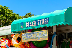 Quite Literally (gendarme02) Tags: store beach stuff beachstuff captiva fortmeyers fl florida travel blue colorful sign signage