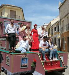 Día de San Isidro-Romería en Alameda (Málaga) (lameato feliz) Tags: carroza alameda romería gente fiesta