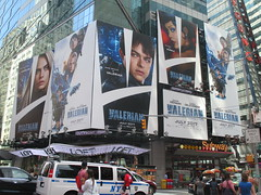 Valerian and the City of a Thousand Planets Billboard Poster 7196 (Brechtbug) Tags: valerian city thousand planets billboard poster times square nyc 2017 french science fiction comics series from 1967 valérian laureline written by pierre christin illustrated jeanclaude mézières film movie directed luc besson new york 06182017