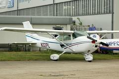 N32PL (IndiaEcho) Tags: n32pl cessna 182 london biggin hill airport airfield kent england egkb bqh bromley general aivation aircraft aeroplane aviation elite show canon eos 1000d