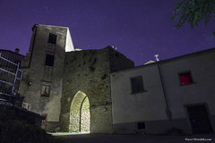 notte in Agnone (`Olivier Jules`) Tags: agnone isernia molise notte night laser milky way via lattea light trail long exposure canon eos 5 d mark ii manfrotto