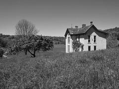 abandoned farm house (photography_isn't_terrorism) Tags: abandoned farmhouse bw rural farm country wv westvirginia
