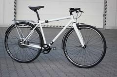 SingleBe e-commuter (SingleBe Bikes) Tags: singlebe custom zehus steelisreal bacmilano curana brooks commuter electricbike