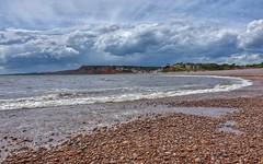 Stormy (Nige H (Thanks for 20m views)) Tags: nature landscape beach seaside coast coastline sky cloud storm stormy devon budleighsalterton england sea wave