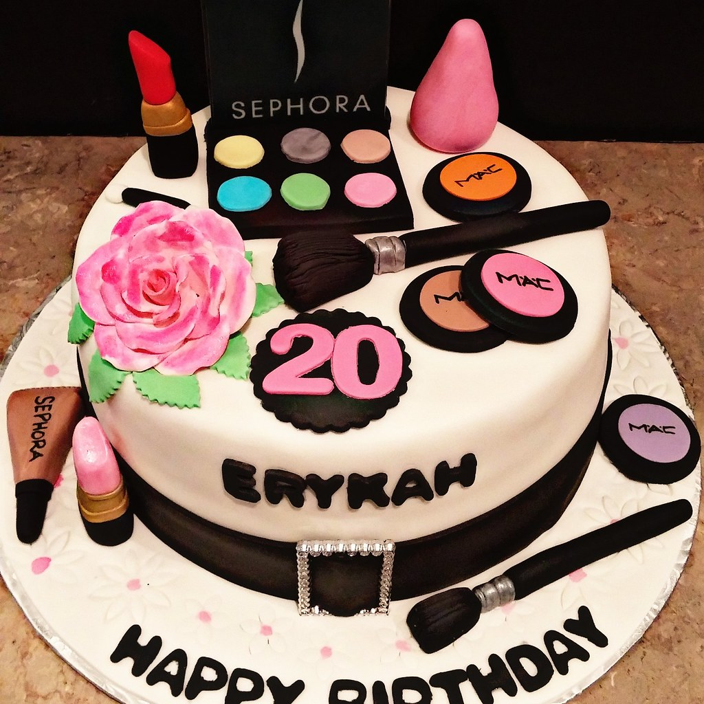makeup birthday cake the world s best photos of makeupcake flickr hive mind 5660