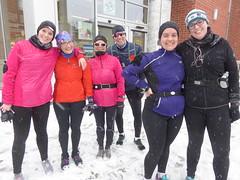 "Running Room (Slater St) February 5, 2017 - P1080378 (ianhun2009) Tags: runningroom ottawaontariocanada winterrunning ""february5 2017"" ""running room slater street"" ""marathon clinic"" training run"" ""cold running"""