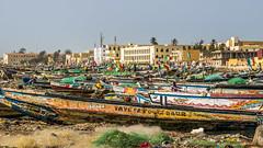 Fishing Port (Yoann Gauthier) Tags: senegal st louis ndar langue barbarie 100d port fishing canoes pirogue