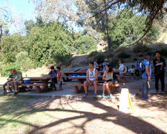 005 Waiting For The Mass Start (saschmitz_earthlink_net) Tags: 2017 california orienteering laoc losangelesorienteeringclub losangeles losangelescounty echopark elysianpark