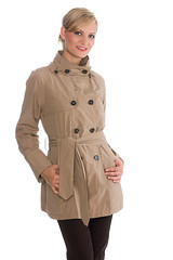 Button up Trench (betrenchcoated) Tags: trenchcoat trench raincoat regenmantel regenjacke buttons buttoned doublebreasted beautifulgirl