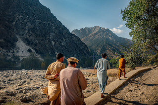 Life in the remote mountains of Pakistan