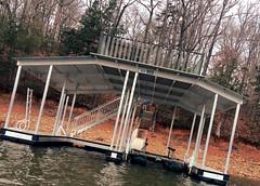 Boat Docks - Double Slip - Sundeck Docks