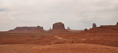 Monument Valley Colorado (Vee living life to the full) Tags: sky cloud clouds blue picture view nikond300 2017 holiday travel tourism tourist placestovisit traveller pleasure usa california arizona distance city architecture creosote rock cliff sheer drop mountains monumentvalley utah skyline horizon sitting geology sedimentary compression uplift