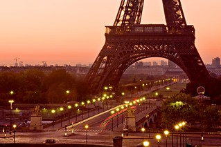 Pont d'Iena and Eiffel Tower
