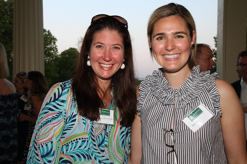 Megan Barclay Eagan and Julie Stern at May 18th Kickoff Party at Jay Mansion