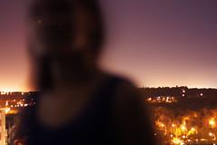 136/365 (hailey_anne) Tags: selfportrait 365 365days night blur