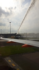 20170614_171158 (Roger Brown (General)) Tags: a320 neo new engine option is easyjets latest purchase their fleet 300th airbus purchased by easyjet has leap 1a leading edge aviation propulsion engines fitted collected from delivery centre toulouse flown via orly back luton 14th july 2017 orange roger brown canon sx610 hs