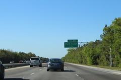 Florida I95nb Exit 293 1 mile (MJRGoblin) Tags: palmcoast florida flaglercounty 2017 interstate95