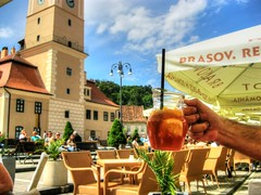 Good day friends :-) (mmalinov116) Tags: brasov brașov romania good drink happy colors румъния брашов holiday vacation почивка ваканция цветно happiness cool