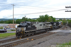 NS 4002 GE AC44C6M (36T) (Trucks, Buses, & Trains by granitefan713) Tags: ge generalelectric geac44c6m ac44c6m formerd940c conversionunit rebuild dctoac dctoactraction ns norfolksouthern railroad railfan mixedfreight manifest freighttrain train readingandnorthern rbmn nikon d3100 nikond3100