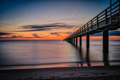 Before Sunrise (martintimmann) Tags: night availablelight sunrise sky seabridge e water batis2818 zeiss rügen sonya9 longexposure a9 sea binz mecklenburgvorpommern deutschland de