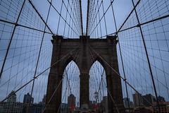 Spiderweb (Mariano Colombotto) Tags: newyorkcity newyork ny nyc brooklynbridge bridge puente architecture arquitectura nikon photographer photography travel tourism clouds autofocus infinitexposure