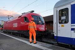 St Margrethen - EuroNight 40465 (Kecko) Tags: 2017 kecko switzerland swiss schweiz suisse svizzera ostschweiz rheintal stmargrethen sg railway railroad eisenbahn bahn bahnhof station locomotive lokomotive sbb öbb taurus 11161710 en euronight swissphoto geotagged geo:lat=47452700 geo:lon=9641770