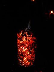 Hot Embers (failing_angel) Tags: 020916 london southwark bankside tatemodern tate greatfire350 compagniecarabosse firegarden greatfireoflondon