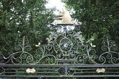 Wrought Iron Entrance Gates Sutton Park (Bolckow) Tags: suttonpark