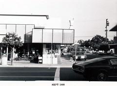 Santa Cruz Avenue - South Side, front (menloparkplanning) Tags: mp1968downtownecr menlopark california sanmateocounty historicalphoto historical santacruzavenue 1968 downtown