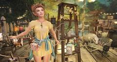 Garden Party (Duchess Flux) Tags: drd zenith fameshed vintagefair arcade sanarae mina empyreanforge comet glamaffair anlar secondlife party sl