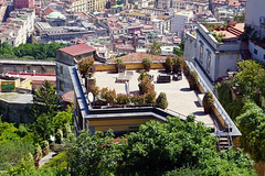 Roof terrace, district of Vomero, Naples, Italy (SomePhotosTakenByMe) Tags: dachterrasse roofterrace outdoor urlaub vacation holiday italy italien naples napoli neapel city stadt building gebäude architektur architecture vomero