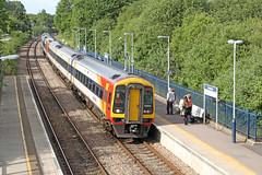 159101 Class 159 Sprinter DMU (Roger Wasley) Tags: 159101 class 159 sprinter dmu swt axminster exeter stdavids london waterloo diesel multiple unit south west trains railways gb uk britain british devon