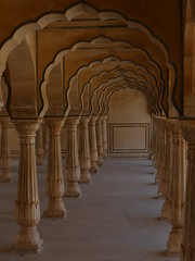 Amber Fort, Jaipur, India (Objectif voyage) Tags: jaipur redfort architecture india