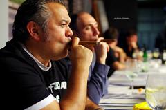 Luis Smoking (Iker Merodio   Photography) Tags: luis mari prego smoking portrait pentax k50 sigma 30mm art digitalak lasarte oria gipuzkoa euskadi basque country cigar zigarro puru