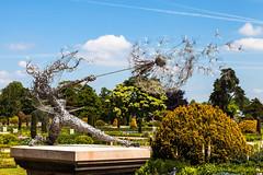 Wishes a Trentham Fairy - Trentham Gardens (m_pj) Tags: trenthamgardens wishes fantasywire dandelion trenthamfairy italiangardens