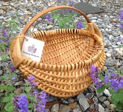Melon final (Nutmegbasketry) Tags: melonbasket ribbasket handwoven newenglandmade basketmaker basketry basket