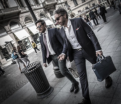 Suits (Henka69) Tags: suit street streetphoto streetcolour candid milano milan
