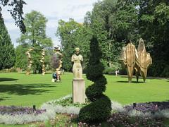 Sculpture garden at Trädgårdsföreningen, Gothenburg, Sweden (Paul McClure DC) Tags: gothenburg sweden sverige july2015 göteborg sculpture scenery modern