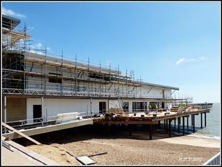 Construction of the new Felixstowe Pier