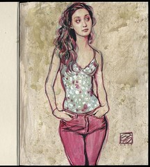 Collector's Edition Drawing (Dorian Vallejo) Tags: art fine drawing figure mixed media drawings oil painting dorian vallejo