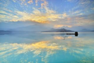 日月潭~晨曦雲彩~ Sun moon lake sunrise